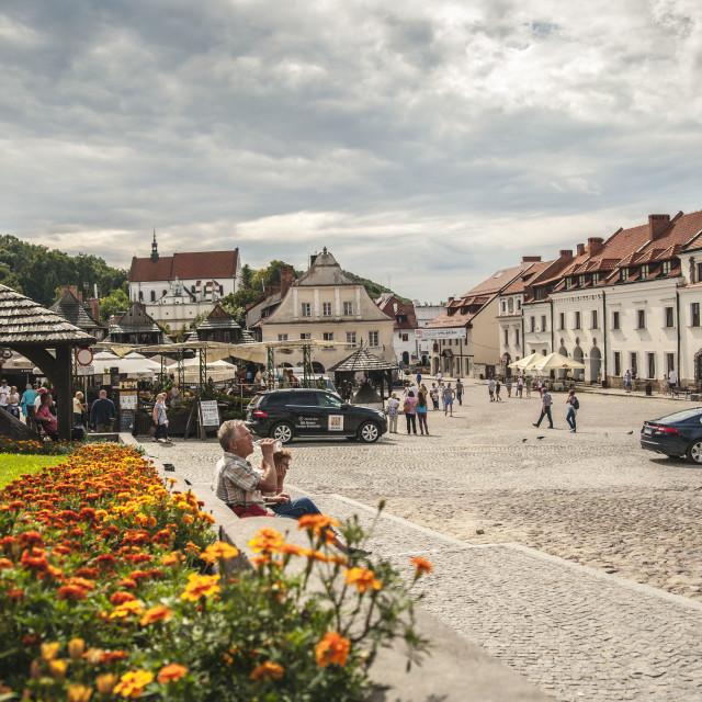 """""""Old Town Kazimierz Dolny"""" stock image"""