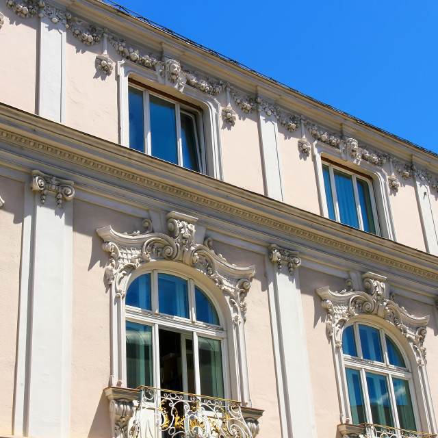 """Historic Architecture in Salzburg"" stock image"