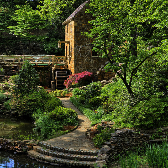 """Old Mill in NLR"" stock image"