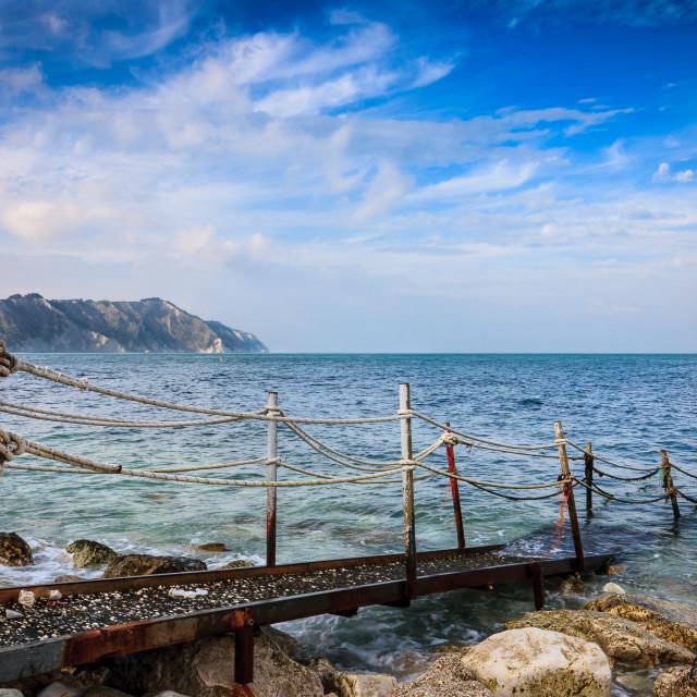 """The Winter Sea 02"" stock image"