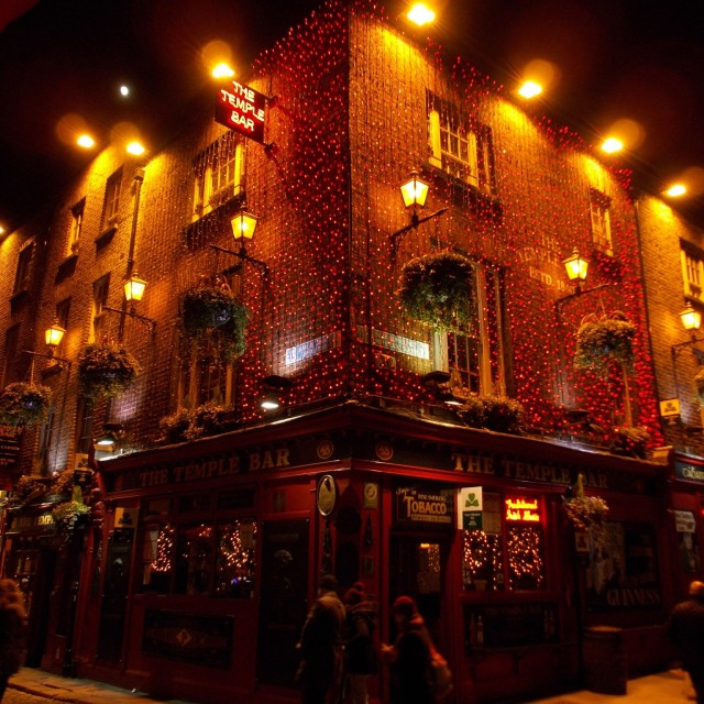 """Temple Bar, Dublin"" stock image"