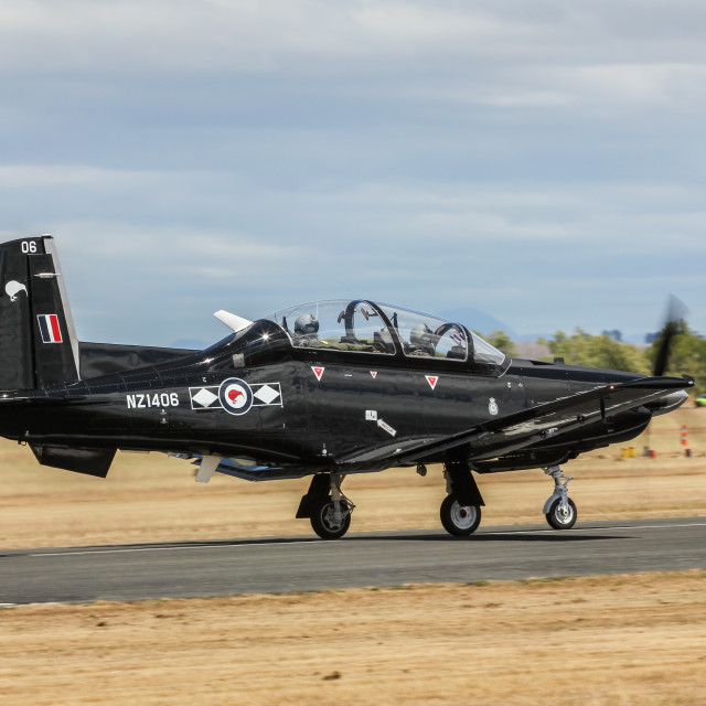 """Beechcraft Texan"" stock image"