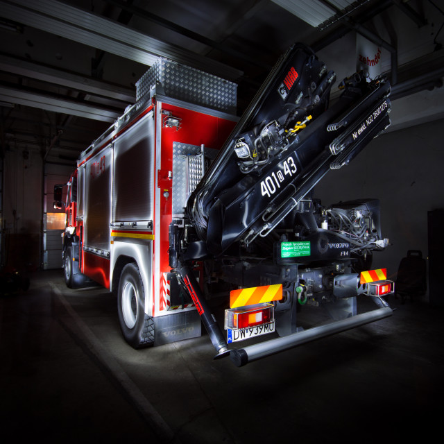 """""""Fire truck"""" stock image"""