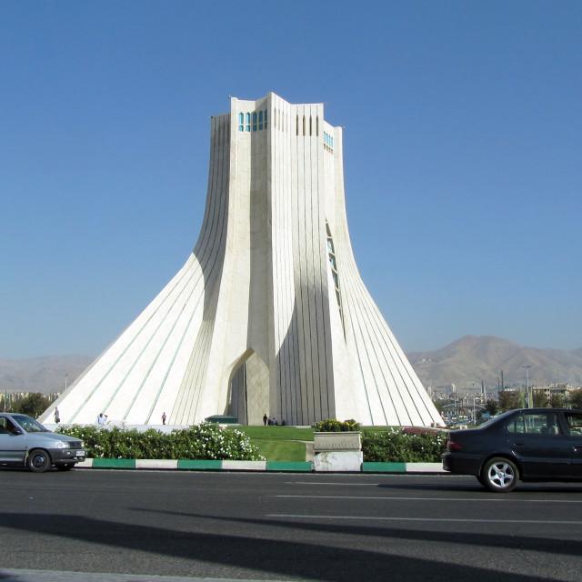 """Azadi Tower"" stock image"