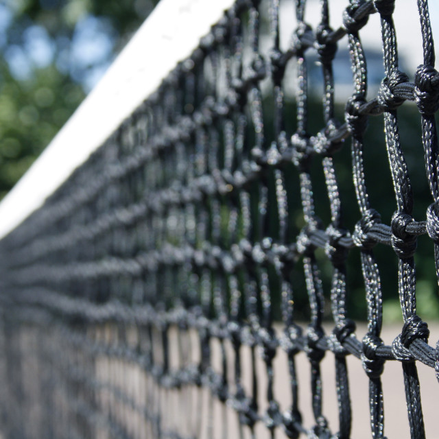 """Tennis net"" stock image"
