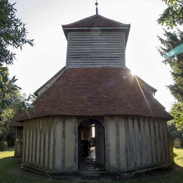 """Saint Mary's Church, Mundon"" stock image"