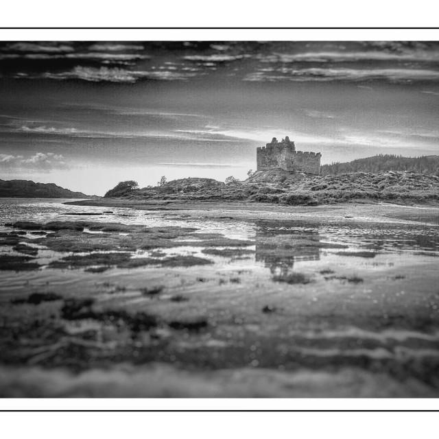 """""""Scottish Castle"""" stock image"""