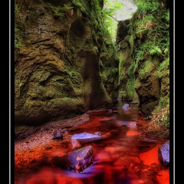 """Devils Pulpit 02"" stock image"