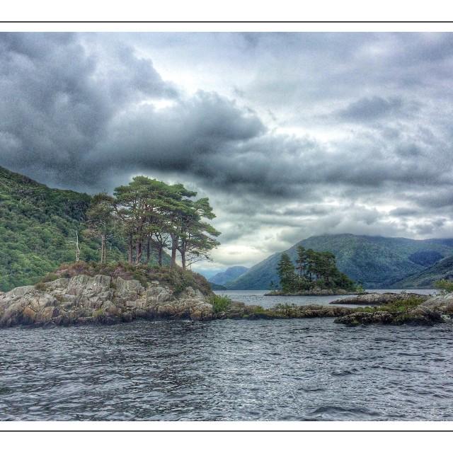 """Loch Sheil"" stock image"