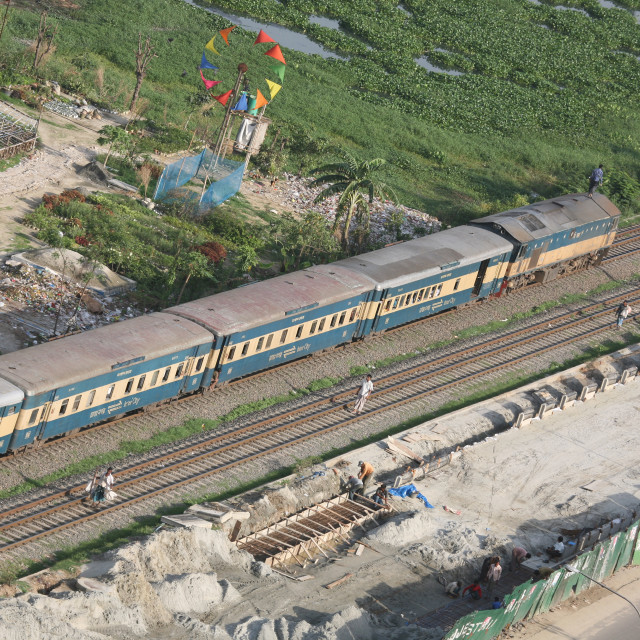 """""""Bangladeshi Railway"""" stock image"""