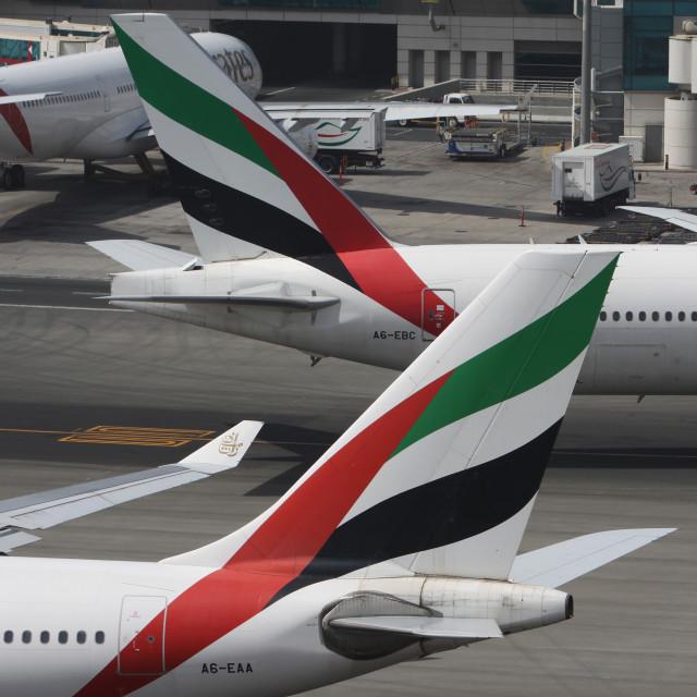 """""""Dubai Airport"""" stock image"""
