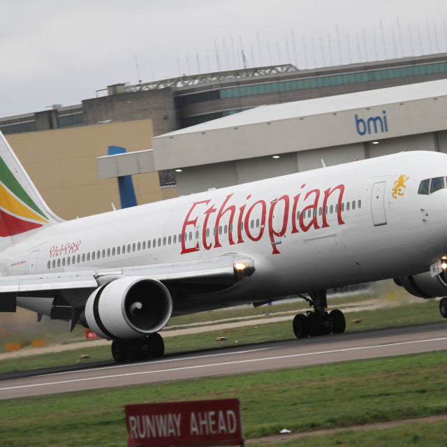 """Ethiopian Airlines"" stock image"