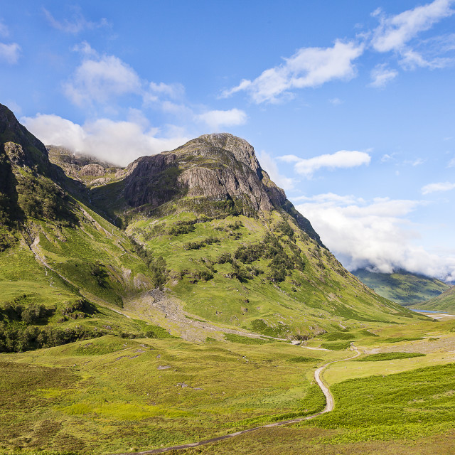 """Glen Coe-Scotland"" stock image"