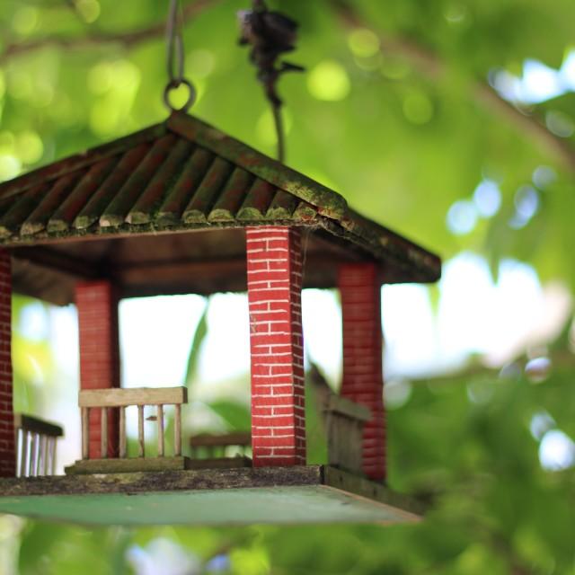 """Birdhouse"" stock image"