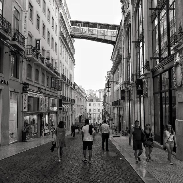 """Remember Lisbon"" stock image"