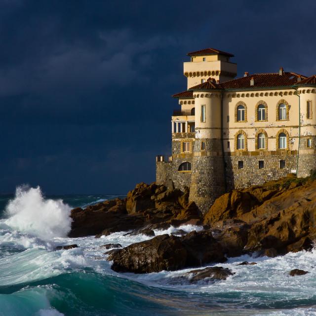 """""""Castello del Boccale, Livorno"""" stock image"""