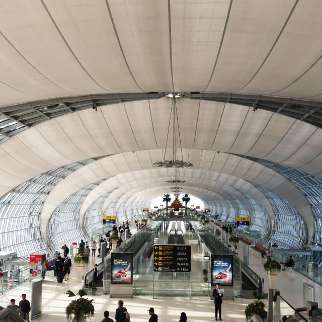 """Suvarnabhumi Airport"" stock image"