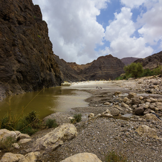 """Wadi / Valley"" stock image"