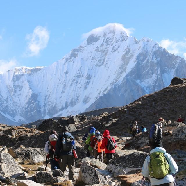"""""""Everest Trek"""" stock image"""