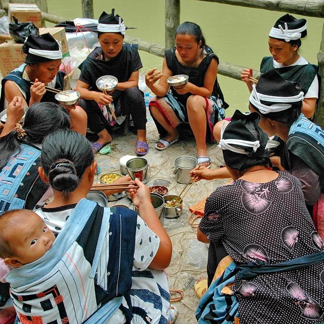 """""""Buyi People"""" stock image"""