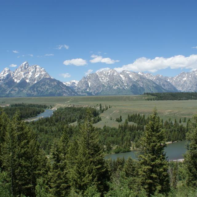 """Grand Teton National Park"" stock image"