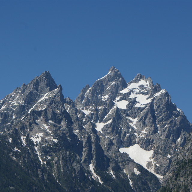 """Grand Teton"" stock image"