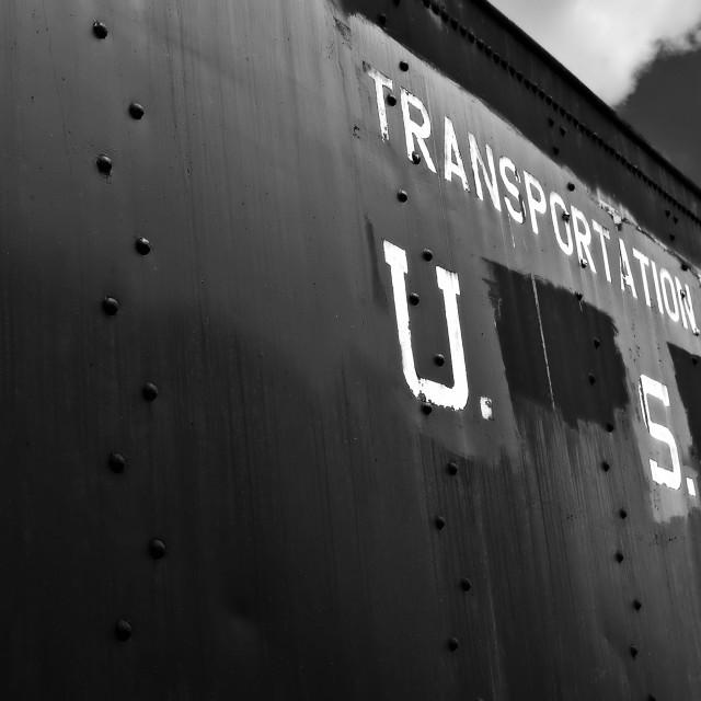 """Transportation Corps"" stock image"