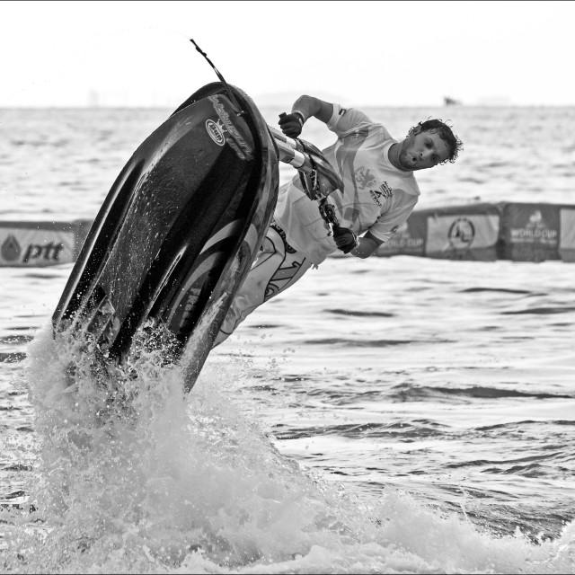 """Jet Ski Freestyle Championships (V)"" stock image"