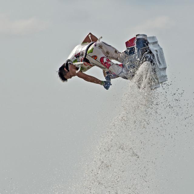 """Jet Ski Freestyle Championships (II)"" stock image"