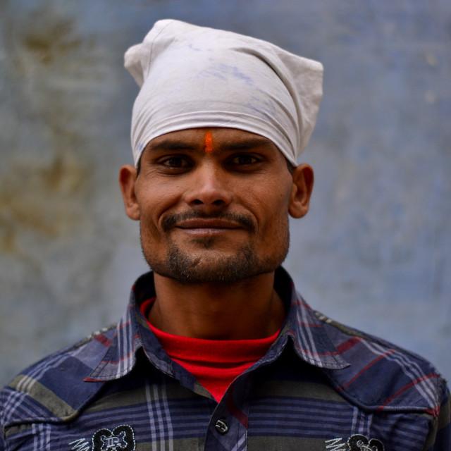 """Portrait of a Punjabi"" stock image"