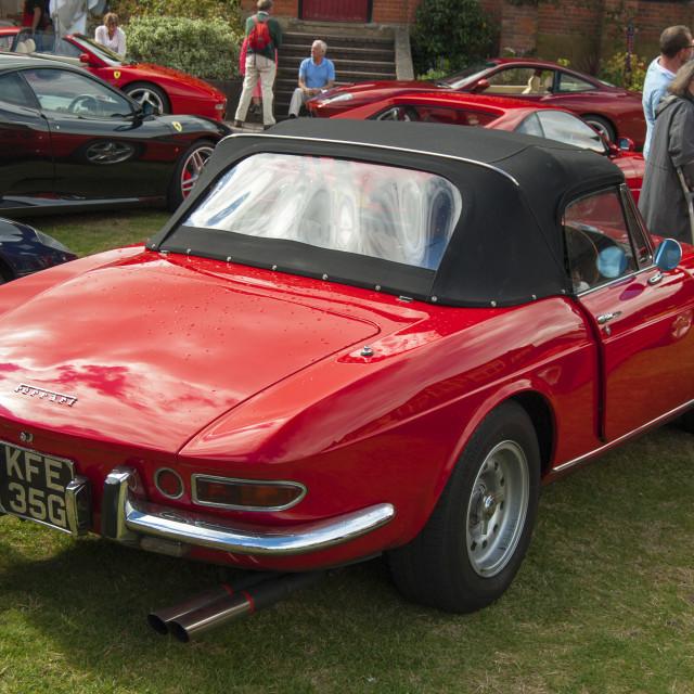 """""""Ferrari 275"""" stock image"""