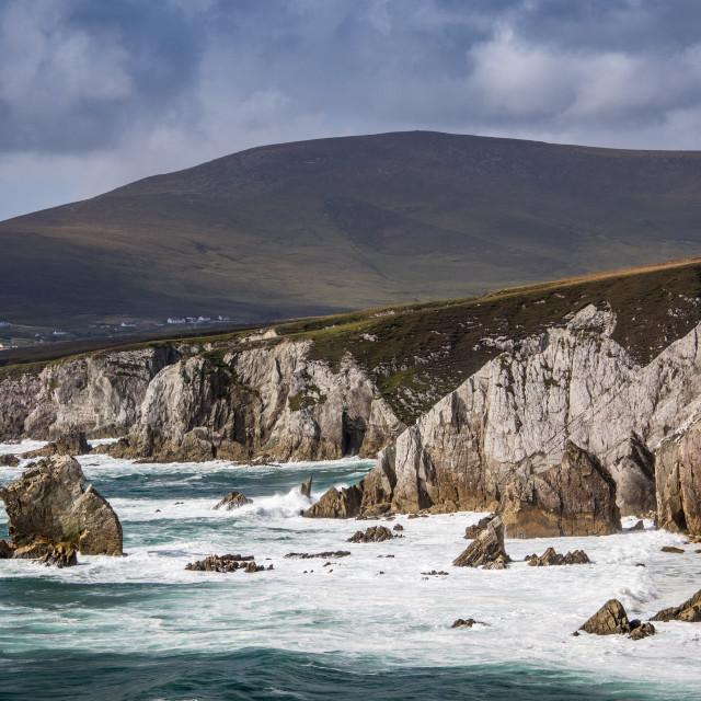 """""""Coast of Ireland"""" stock image"""