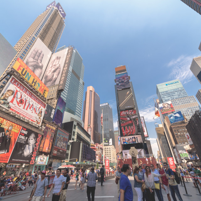 """""""Times Square NYC"""" stock image"""