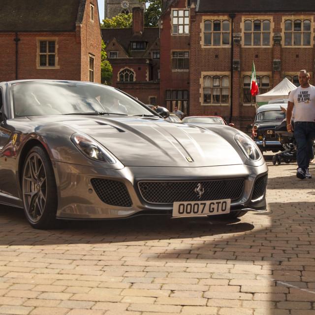 """""""Ferrari GTO"""" stock image"""