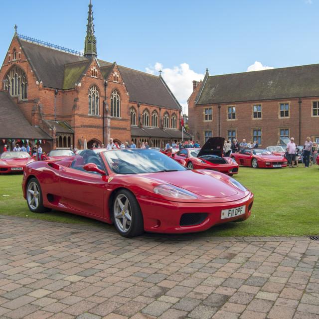 """Ferrari F430"" stock image"