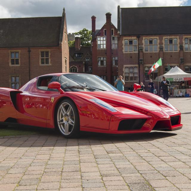 """Ferrari Enzo"" stock image"