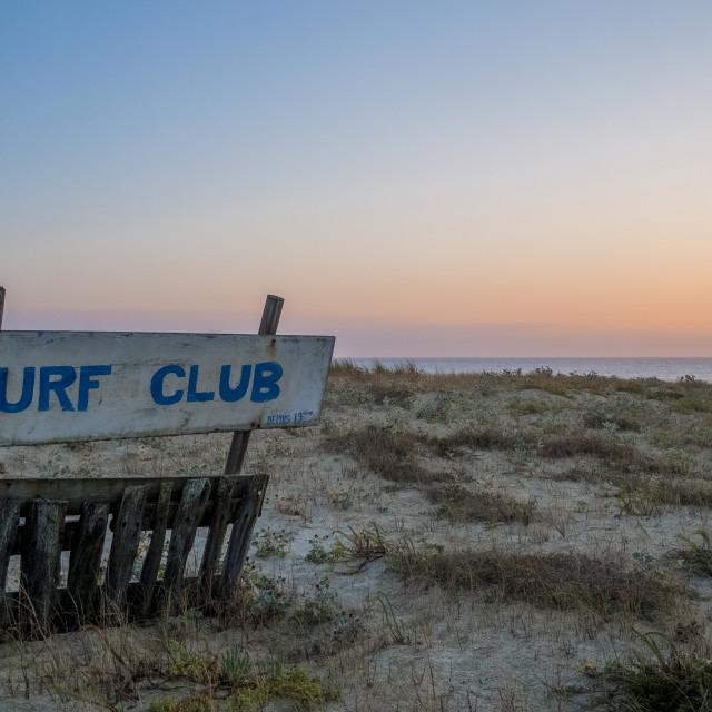 """Surf Club"" stock image"