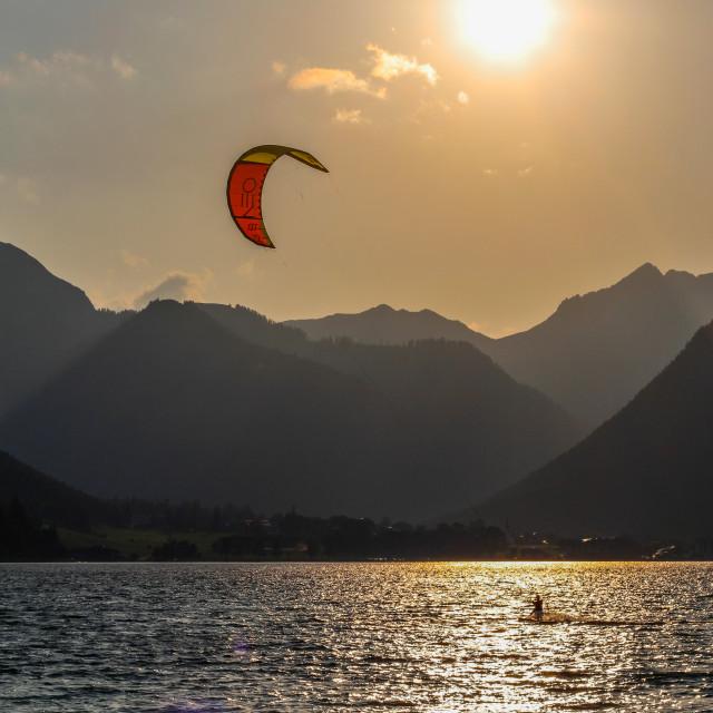 """Beautiful Lake in Austria!"" stock image"