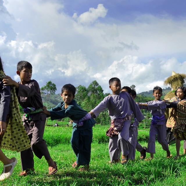 """Sundanese Children"" stock image"