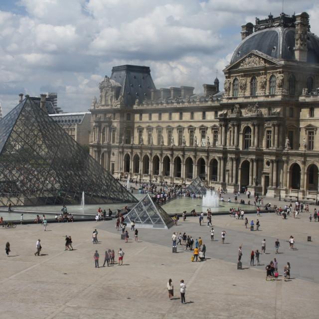 """Louvre"" stock image"