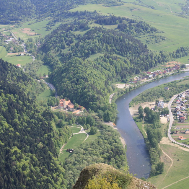 """Dunajec river"" stock image"