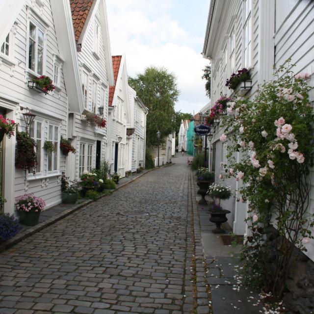 """old Stavanger"" stock image"