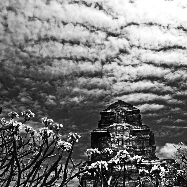 """Posahinu ancient temple"" stock image"
