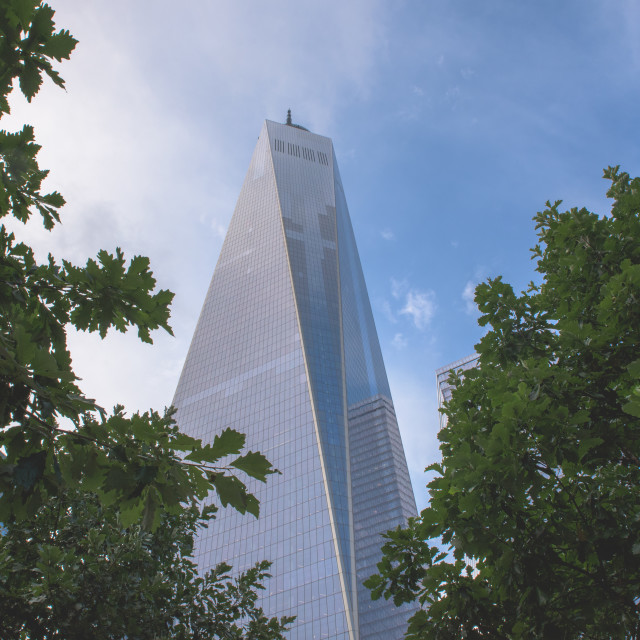 """Freedom tower"" stock image"