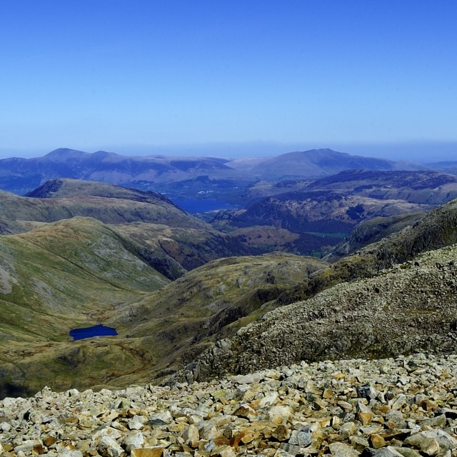 """""""Corridor Route and fells"""" stock image"""