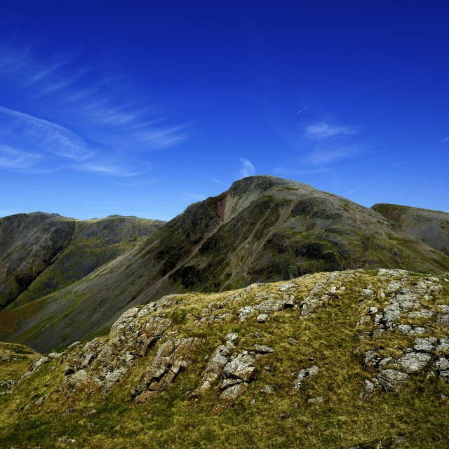 """Great Gable"" stock image"