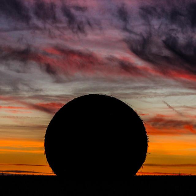 """""""Belgium Sunset."""" stock image"""