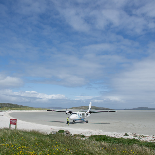 """Barra Airport"" stock image"