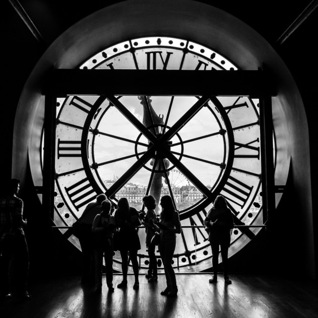 """""""The Clock Face"""" stock image"""
