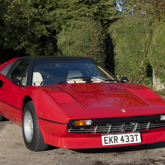 """Ferrari 308 GTS"" stock image"